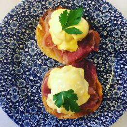 Maryville Tearoom Breakfast Egg Benedict