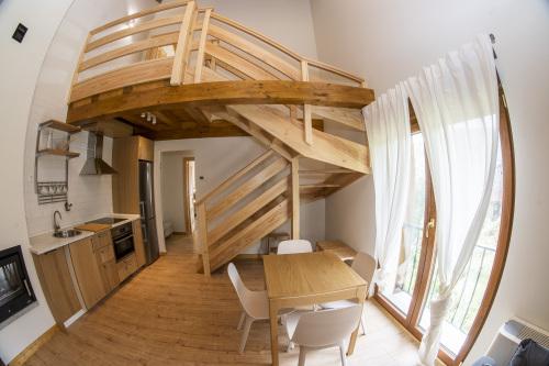 Apartamento duplex para cuatro personas