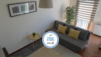Apartamento Oceanus Park - Sala