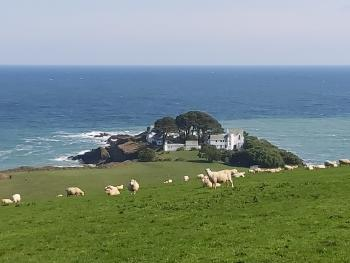 Chapel Point on the SW Coastal path just a few mins walk of the House