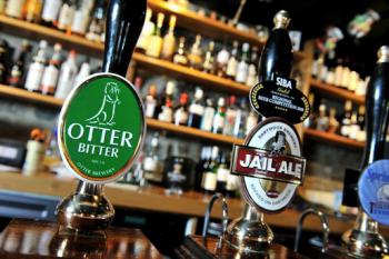 All our ales and ciders are brewed in Devon