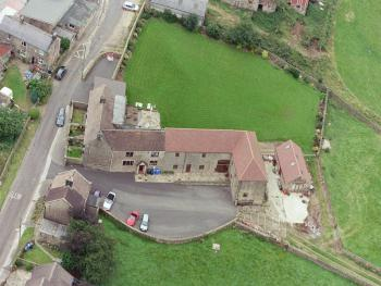 Padley Farm - Arial view