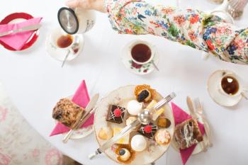 Maryville Tearoom Afternoon tea