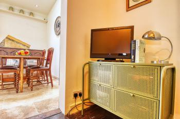 TV in Lounge with DVD player & DVDs