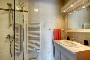 salle d'eau chambre campagnarde