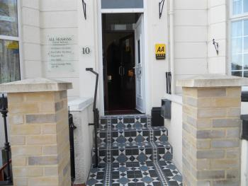 All Seasons Guest House - Entrance