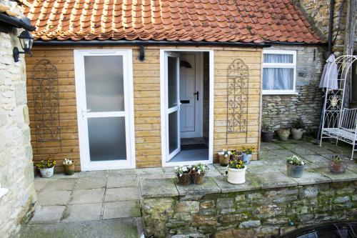 Entrance to our annexe