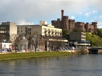 Inverness castle & river