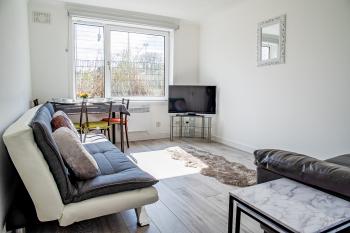 Millburn Apartment - Living room.
