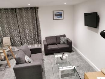 Jesmond Suite - Open Plan Lounge Dining Area