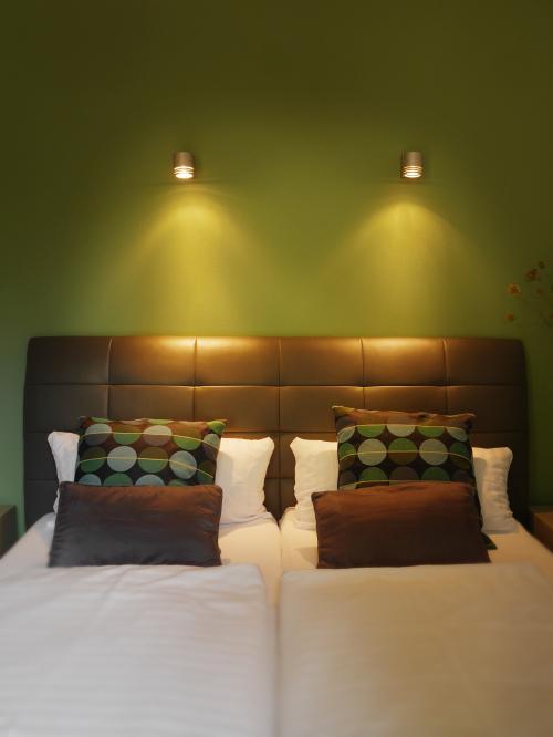 Doppelzimmer-Standard-Ensuite Bad-Gartenblick - Nur Zimmer