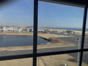 Lake and Ocean views from front window seat
