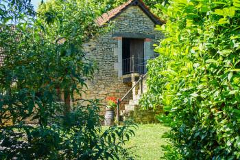 Garden and outbuildings Domaine de la Licorne
