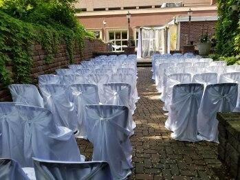 Back Patio - Wedding Set-Up