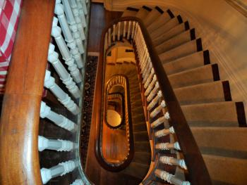 The Spiral Staircase from the top