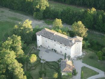 Château - vue aérienne
