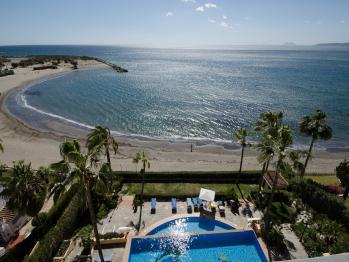 Apartamento El Coral - Terraza comunitaria y vistas al mar