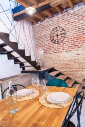 Pour un repas en tête à tête dans un décor authentique - La Grange - Bruyères-et-montberault