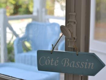 Le Bassin est à 150m de la villa Glen-Tara, par l'allée Toulouse-Lautrec.