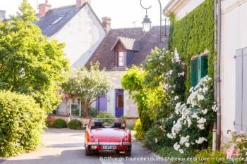 Village des Roses Chédigny- Gîte d'étape Le Presbytère de Beaulieu
