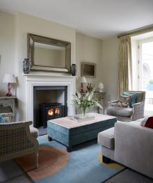 """Newhall Mains - """"Chez Catriona"""" - Living Room"""