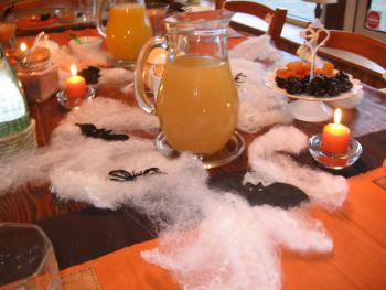 petit-déjeuner thémé Halloween