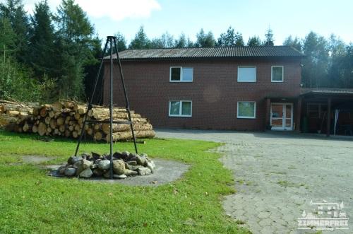 Unser Gästehaus mit Grillplatz