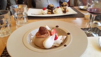 Dessert à la châtaigne cuisine du terroir