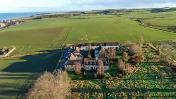 Aerial View of Osborne Steading