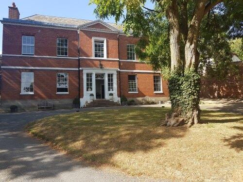 Breedon Hall in summer