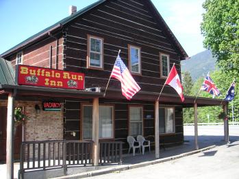 The Buffalo Run Inn - Front of Buffalo Run Inn
