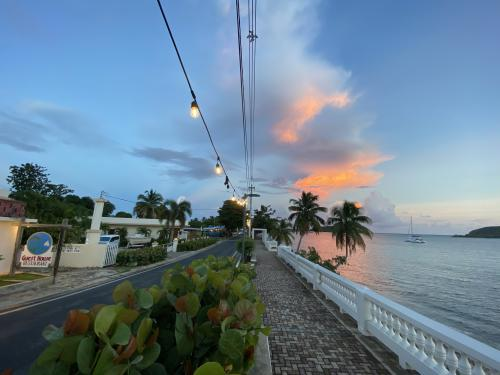 The Malecon, directly across from Trade Winds