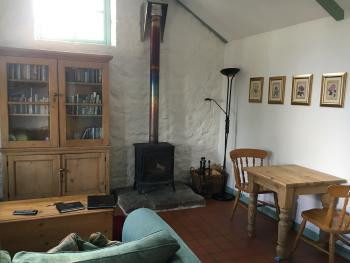 interior of cottage