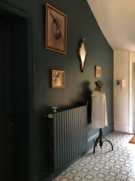 hall d'entrée de la villa