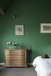 Chambre golf avec lit double 180x200 ou 2 lits simples et, si besoin, lit d'appoint