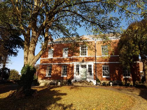 Breedon Hall in autumn