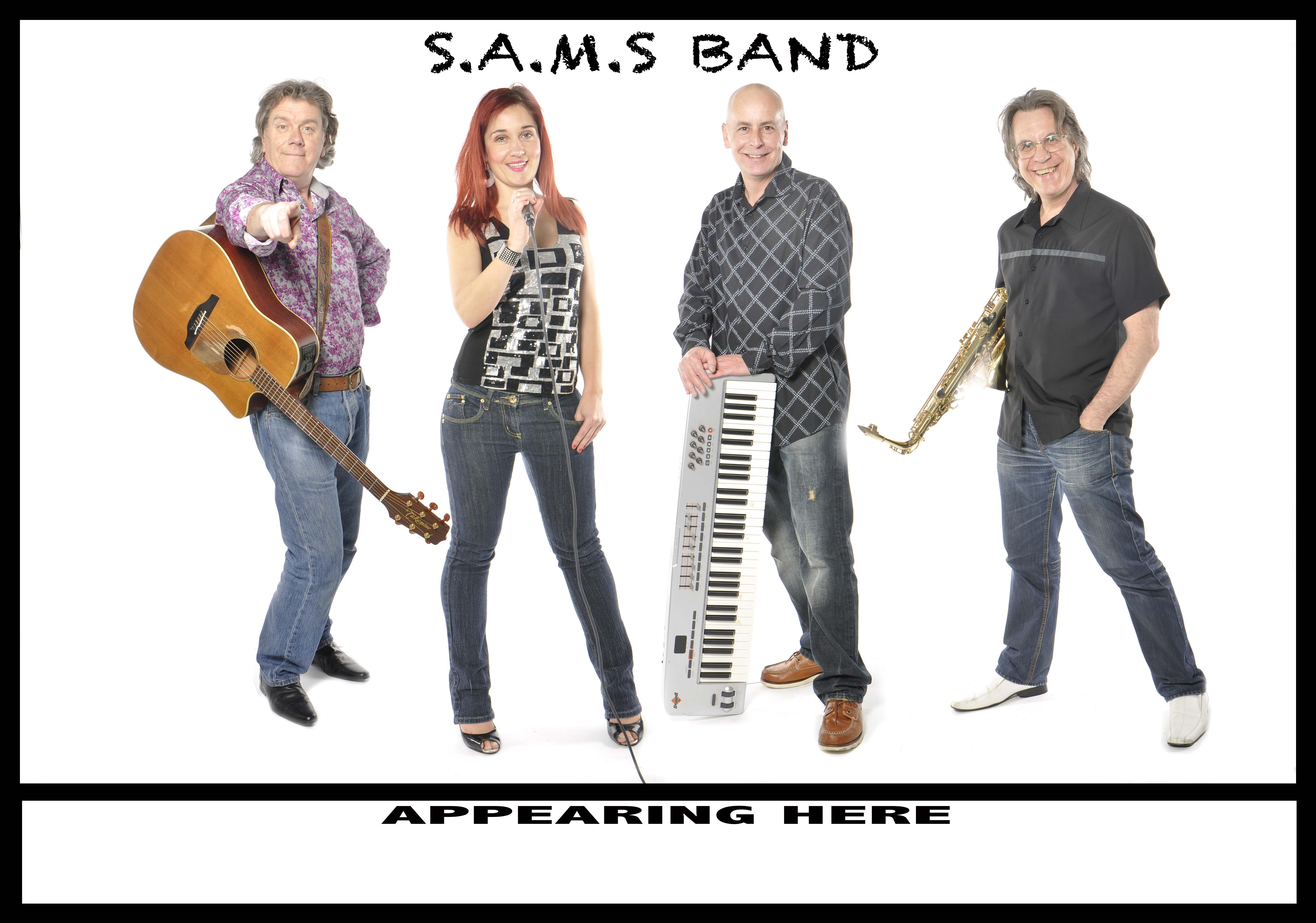 29th November  Sams Band From 8.30pm