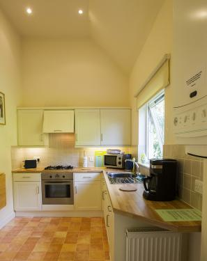 Each cottage has a fully fitted kitchen