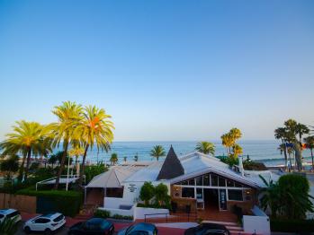 Apartamento Vistamar - Terraza y vistas al mar