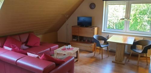 Apartment-Standard-Eigenes Badezimmer-Blick auf den Wald-FW1 - Standardpreis