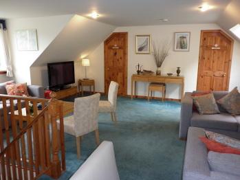 Ardlochay Lodge - Lounge area