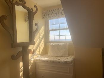 Third floor dormered room with Ocean view