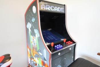 Retro Arcade Machine in the Gym (shared area)