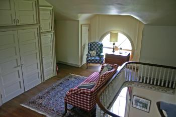 3rd Floor Parlor with unique circular window