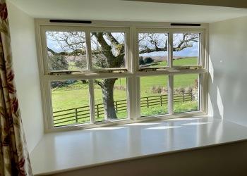 Snowdrop Cottage garden view