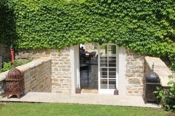 MaisonMaya_escaliers acces direct sur le jardin