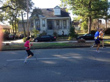 outside property view and crescent city classic annual 5k race