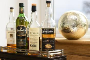 Speyside, home to 50% of Scottish Distilleries