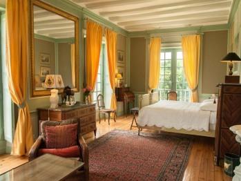 La chambre du Parc et ses 4 fenêtres