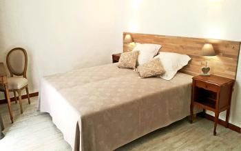Chambre romantique, lit douche 160 x 200 cm ou séparable